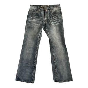 HELIX Slim boot cut denim jeans 34W